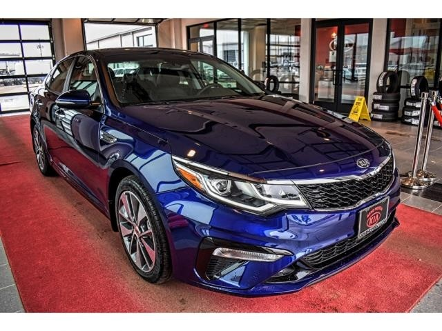 New 2019 Kia Optima S Sedan In Lubbock #KG294445